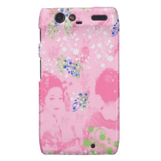 Dance 妓 with flower and invitation cat droid RAZR cover