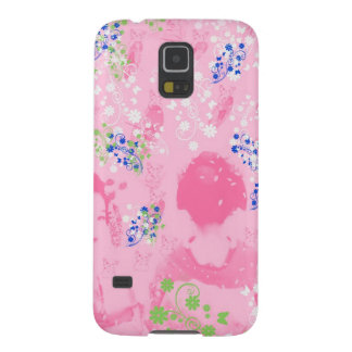 Dance 妓 with flower and invitation cat galaxy s5 cover