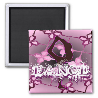Dance 01 2 inch square magnet