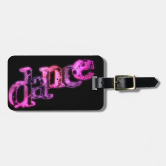 Dance 02 luggage tag