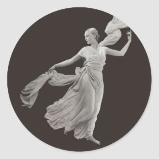 Dance - 1930s classic round sticker