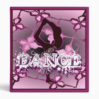 "Dance 1.4"" Binder"