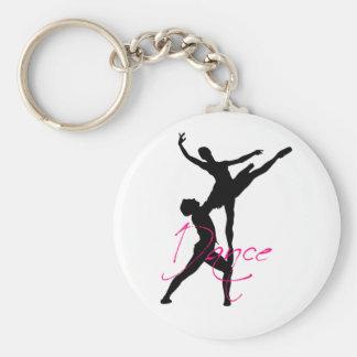dance_3 basic round button keychain