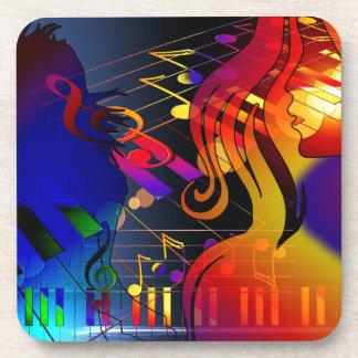 dance-409011 dance music treble clef sound concert drink coaster