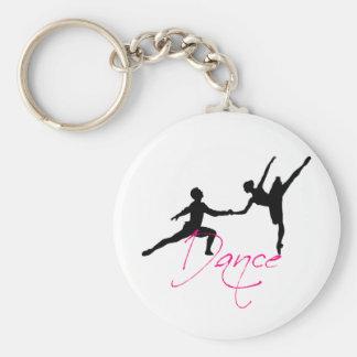 dance_4 basic round button keychain