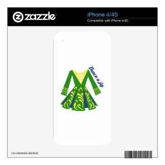 Dance a Jig Decals For The iPhone 4S