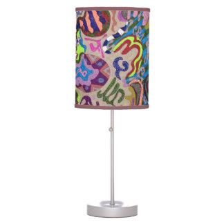 """""""Dance"""" Abstract Art Desk Lamp"""