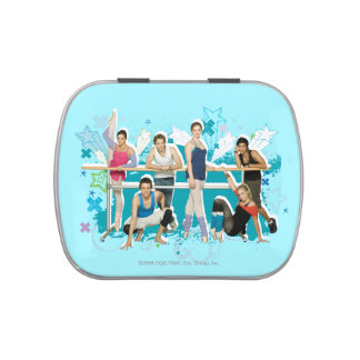 Dance Academy Cast Graphic Candy Tins