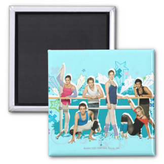 Dance Academy Cast Graphic Magnet