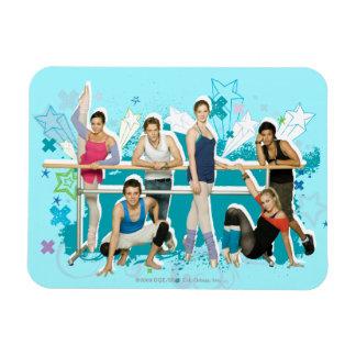 Dance Academy Cast Graphic Magnet