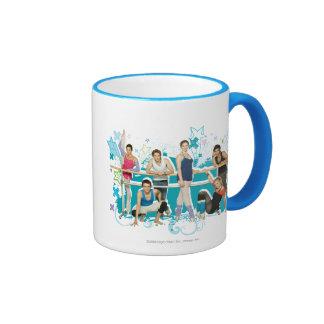Dance Academy Cast Graphic Ringer Coffee Mug