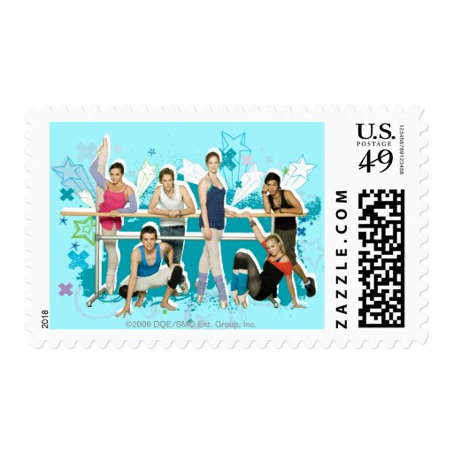 Dance Academy Cast Graphic Postage Stamps