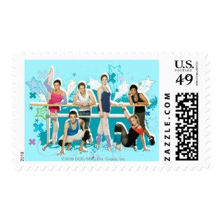 Dance Academy Cast Graphic Stamp