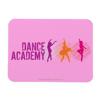 Dance Academy Color Dancers Logo Magnet