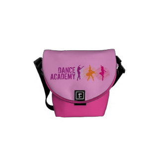 Dance Academy Color Dancers Logo Messenger Bag