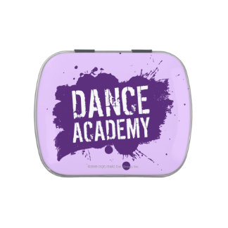 Dance Academy Silhouettes Logo Candy Tins