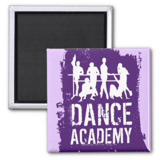 Dance Academy Silhouettes Logo Magnet