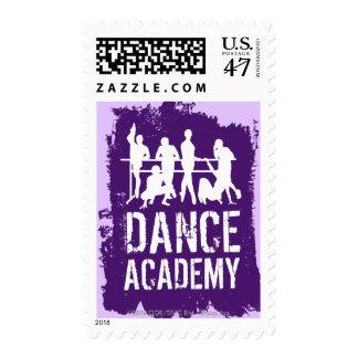 Dance Academy Silhouettes Logo Postage