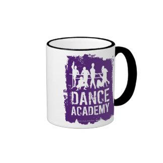 Dance Academy Silhouettes Logo Ringer Mug