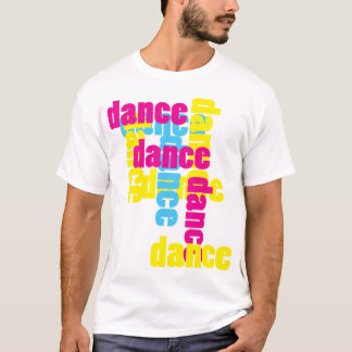 Dance All over Bright Print T-Shirt