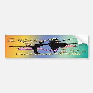 Dance Among Stars Bumper Sticker