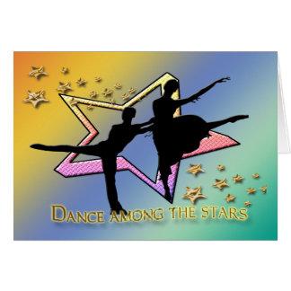 Dance Among Stars Card