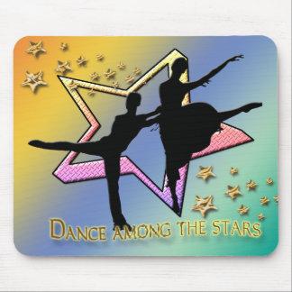 Dance Among Stars Mouse Pad