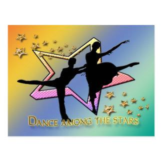 Dance Among Stars Postcard
