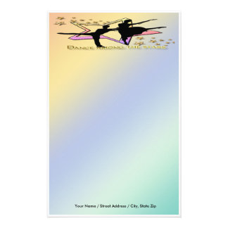 Dance Among Stars Stationery