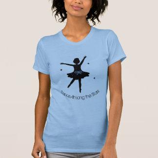 Dance Among the Stars, silhouette ballerina Shirt