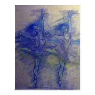 Dance and Ballet Design Post Card