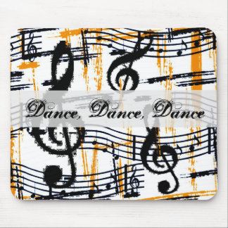 Dance And Music Notes Mousepad