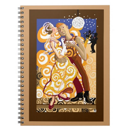 Dance and romance notebook