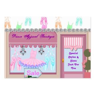 Dance Apparel Boutique Business Cards