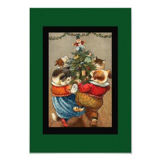 Dance Around the Christmas Tree Card