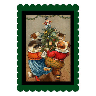 Dance Around the Christmas Tree Card