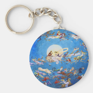 Dance Around the Moon by C. Doyle Keychains