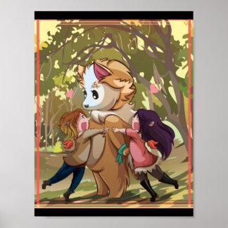 Dance Around the Wolf Poster