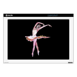 "Dance art design 17"" laptop skin"