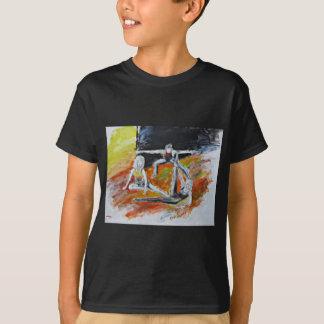 dance art print, figurative fine art by T J Conway T-Shirt