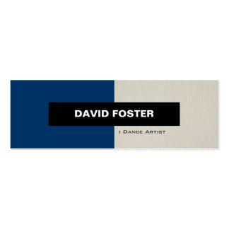 Dance Artist - Simple Elegant Stylish Business Card Template