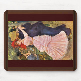 Dance At Bougival By Pierre-Auguste Renoir Mouse Pad