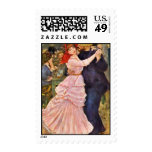 Dance At Bougival By Pierre-Auguste Renoir Stamps