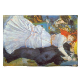 Dance at Bougival by Pierre Renoir Placemat