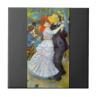 Dance at Bougival by Pierre Renoir Ceramic Tiles