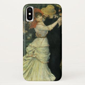 Dance at Bougival by Pierre Renoir, Vintage Art iPhone X Case