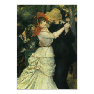 Dance at Bougival by Renoir, Engagement Party Card