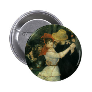 Dance at Bougival by Renoir, Vintage Impressionism Pin