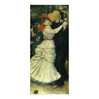 Dance at Bougival by Renoir, Vintage Impressionism Announcements