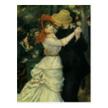 Dance at Bougival by Renoir, Vintage Impressionism Post Card